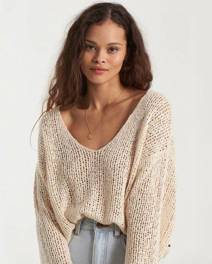 3 Feel The Breeze Sweater White 6517956 Billabong
