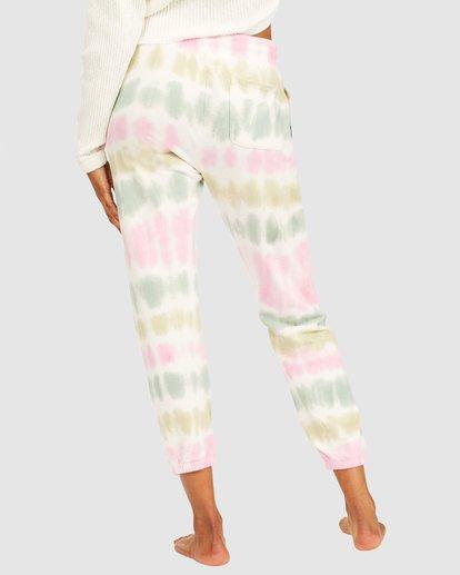 4 Casual Coast Tie Dye Track Pants White 6517958 Billabong