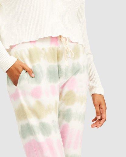 5 Casual Coast Tie Dye Track Pants White 6517958 Billabong