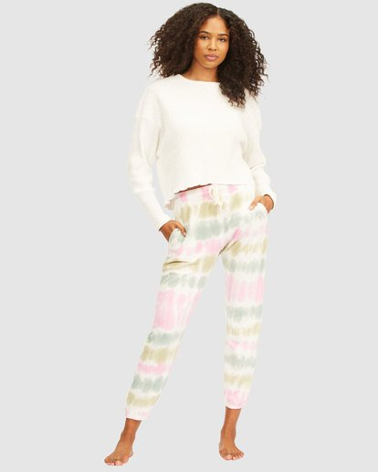 0 Casual Coast Tie Dye Track Pants White 6517958 Billabong