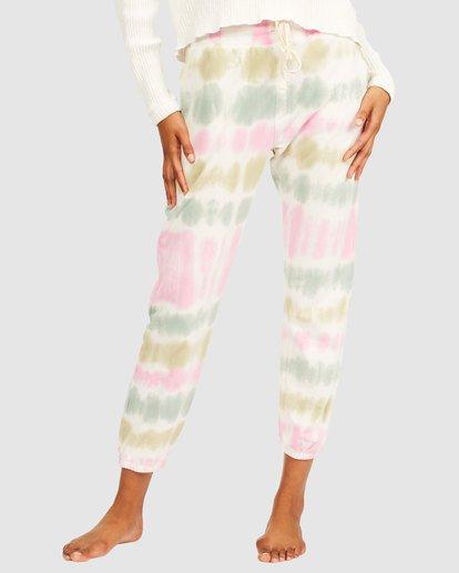 3 Casual Coast Tie Dye Track Pants White 6517958 Billabong