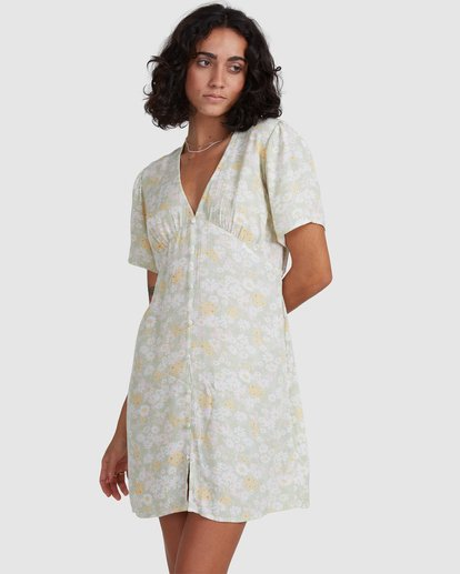 3 Melody Dress Yellow 6517966 Billabong