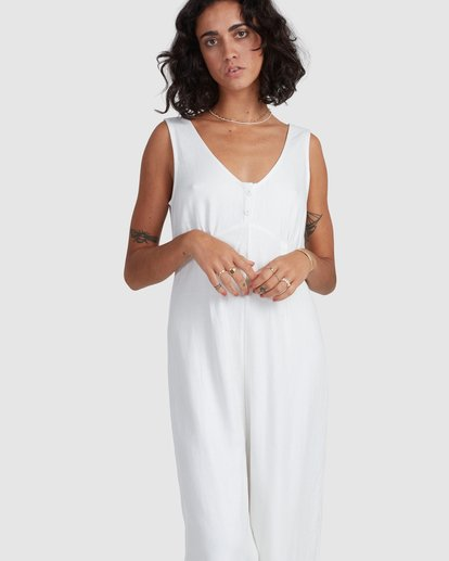 4 Chime Jumpsuit White 6517967 Billabong
