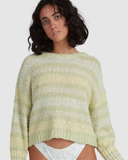7 Easy Going Sweater Green 6517979 Billabong