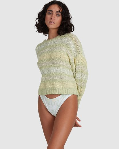 3 Easy Going Sweater Green 6517979 Billabong