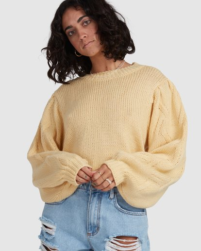 6 Honey Dew Sweater Yellow 6517980 Billabong