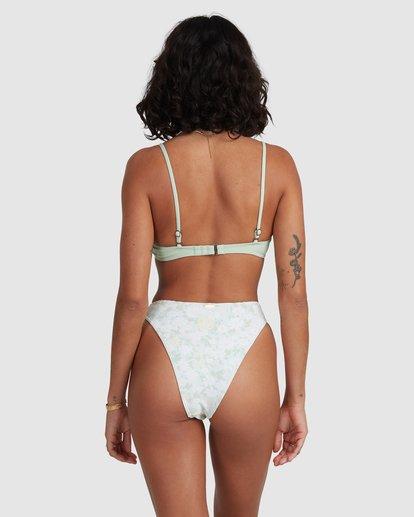 4 Ripple V Bralette Bikini Top Yellow 6517987 Billabong