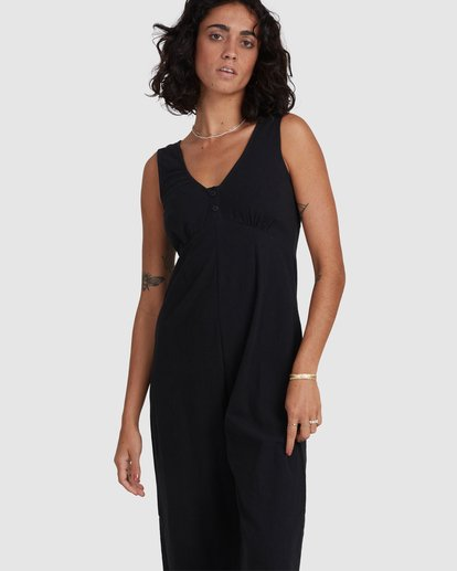 4 Chime Jumpsuit Black 6517991 Billabong