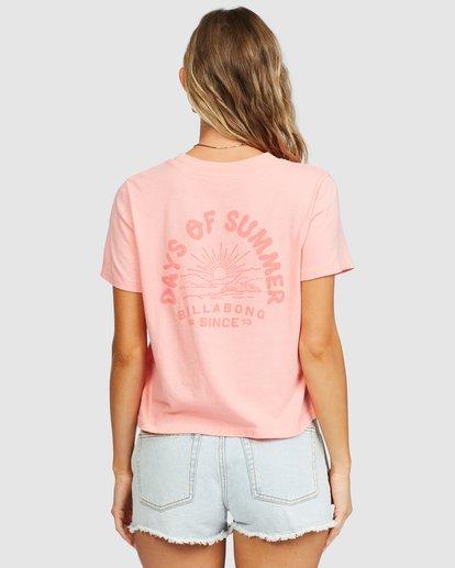 4 Eco Rockers T-Shirt Orange 6518025 Billabong