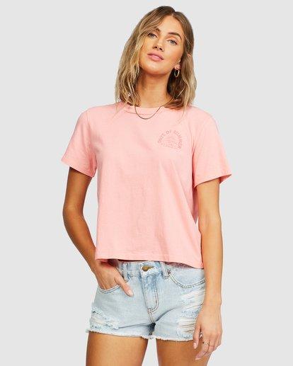 2 Eco Rockers T-Shirt Orange 6518025 Billabong