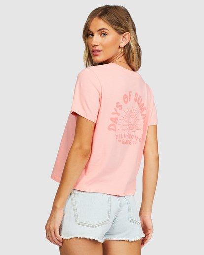 3 Eco Rockers T-Shirt Orange 6518025 Billabong