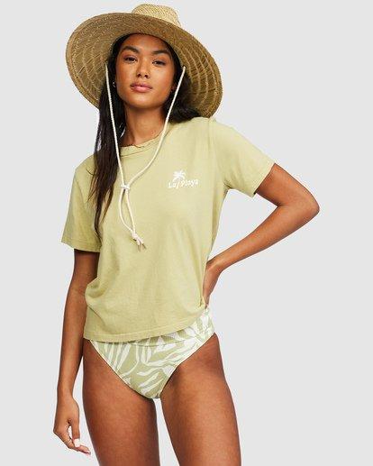 0 Eco Rockers T-Shirt Green 6518025 Billabong