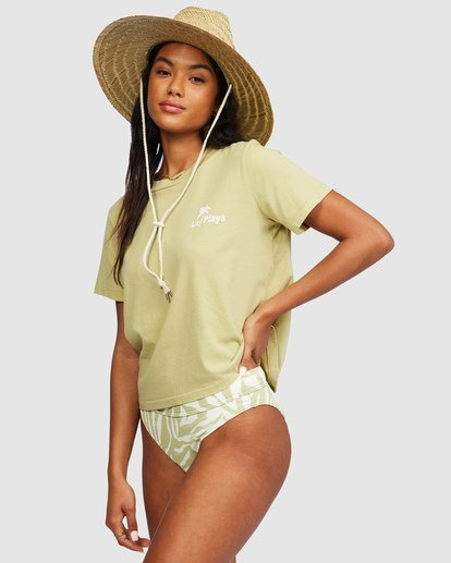1 Eco Rockers T-Shirt Green 6518025 Billabong