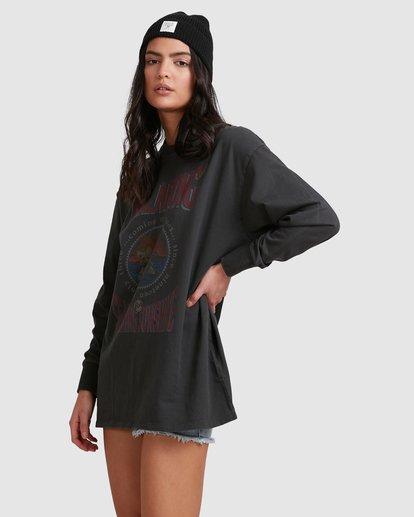 2 Roses T-Shirt Black 6518074 Billabong