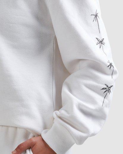 6 Palm Sketch Crew White 6518215 Billabong