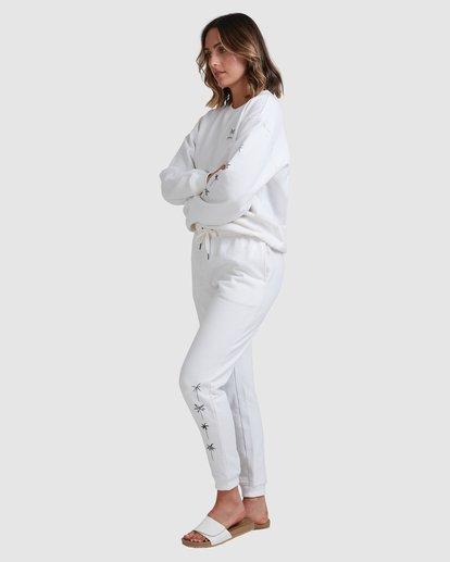 2 Palm Sketch Trackpants White 6518216 Billabong