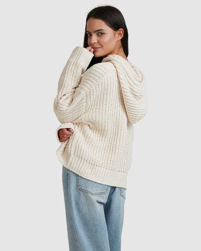 3 Nelly Hooded Sweater Beige 6518292 Billabong