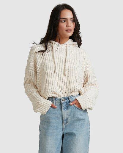 1 Nelly Hooded Sweater Beige 6518292 Billabong