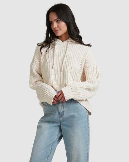 2 Nelly Hooded Sweater Beige 6518292 Billabong