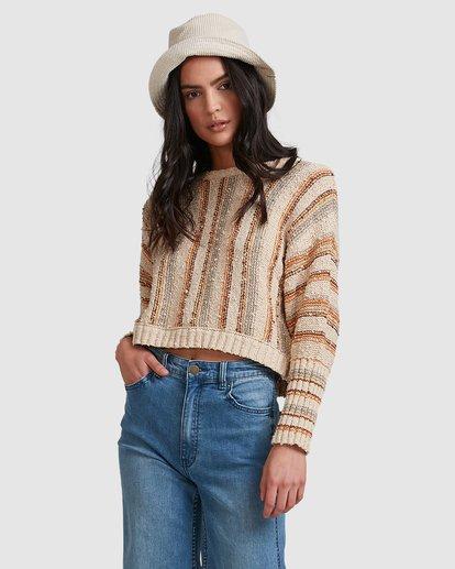 3 Easy Going Sweater Beige 6518296 Billabong
