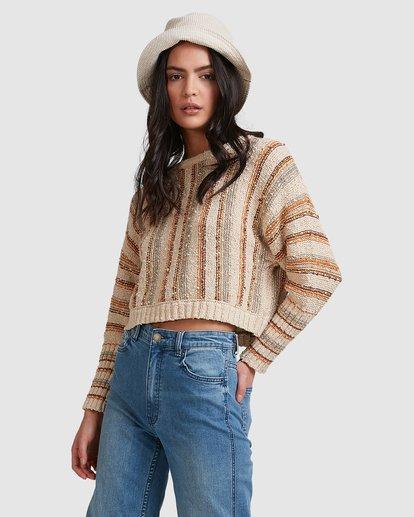 4 Easy Going Sweater Beige 6518296 Billabong