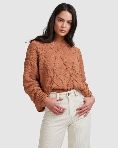 3 Only Mine Sweater Brown 6518297 Billabong