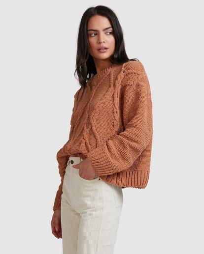 4 Only Mine Sweater Brown 6518297 Billabong