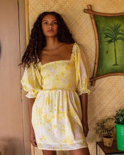 0 Groovy Girl Dress Yellow 6518486 Billabong