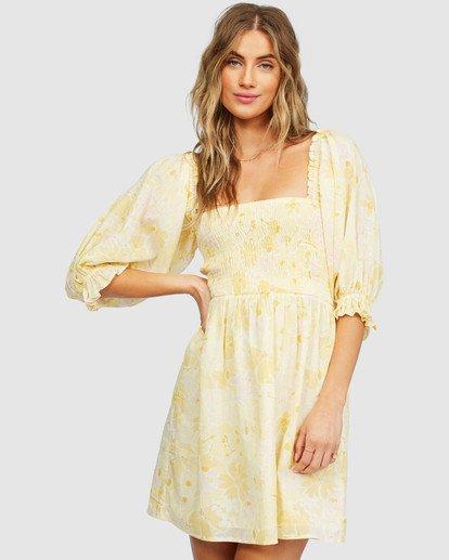 2 Groovy Girl Dress Yellow 6518486 Billabong