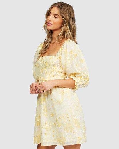 3 Groovy Girl Dress Yellow 6518486 Billabong