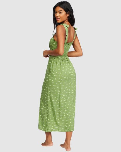 2 Amor Midi Dress Green 6518487 Billabong