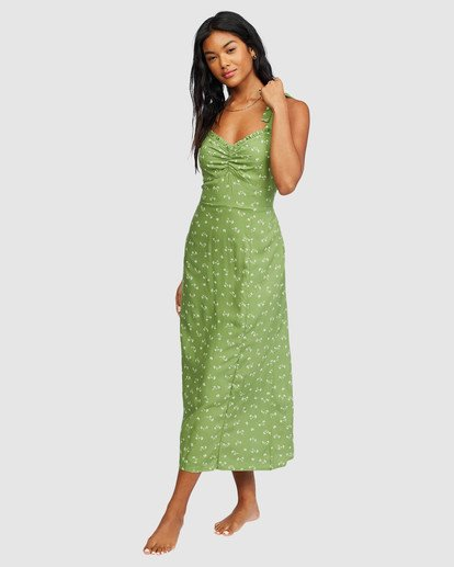 0 Amor Midi Dress Green 6518487 Billabong