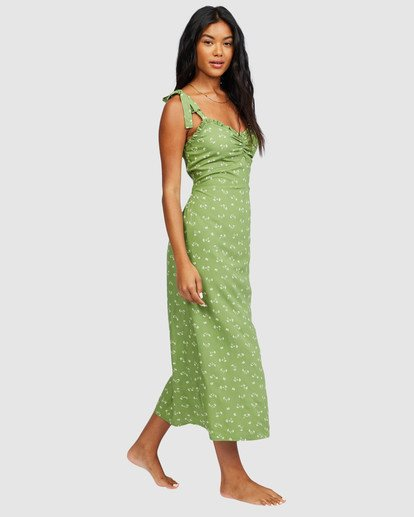 1 Amor Midi Dress Green 6518487 Billabong