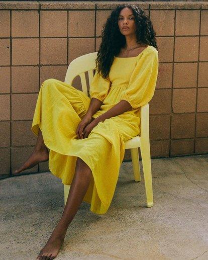 0 Dream Chaser Dress Yellow 6518489 Billabong