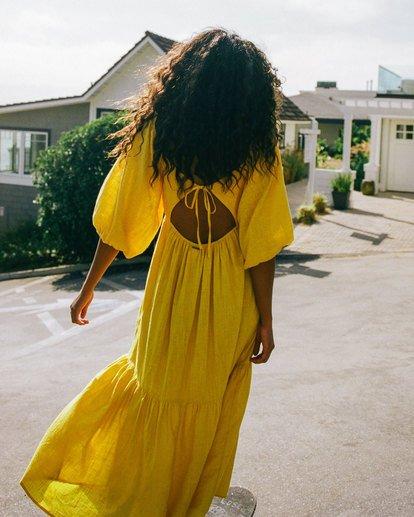 1 Dream Chaser Dress Yellow 6518489 Billabong
