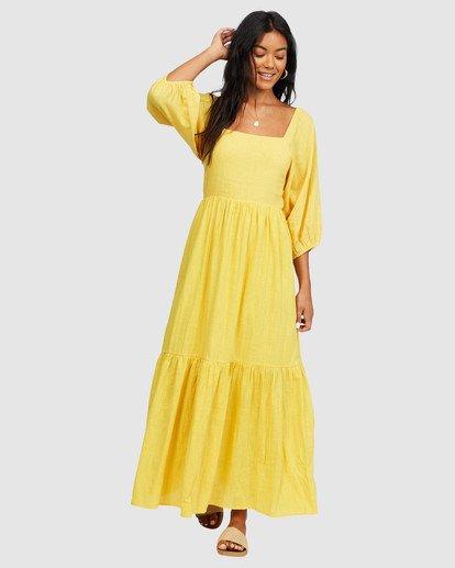 3 Dream Chaser Dress Yellow 6518489 Billabong