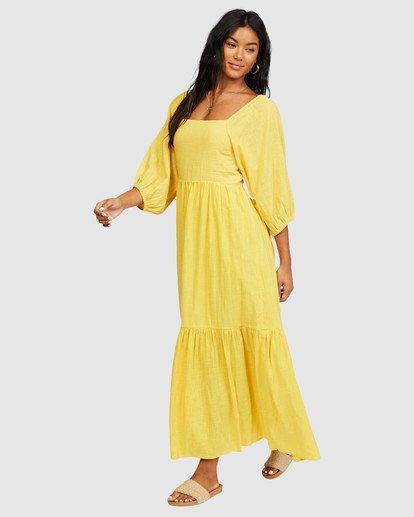 4 Dream Chaser Dress Yellow 6518489 Billabong