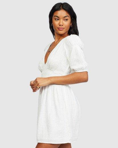 1 Spellbound Dress White 6518494 Billabong