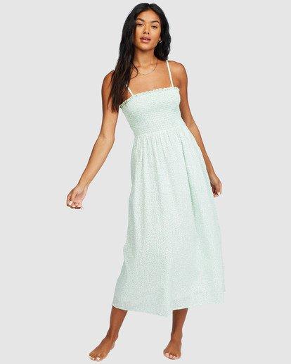 0 Baja Breeze Dress White 6518496 Billabong