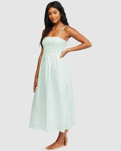 1 Baja Breeze Dress White 6518496 Billabong