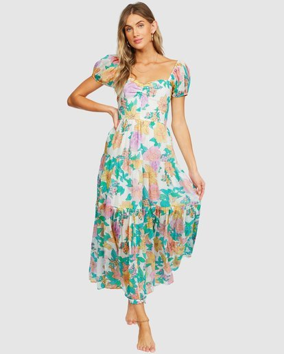 2 Sunrise Maxi Dress White 6518498 Billabong