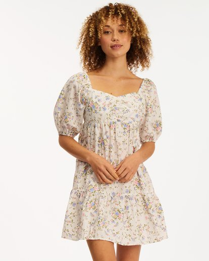0 Be Mine Dress White 6518531 Billabong