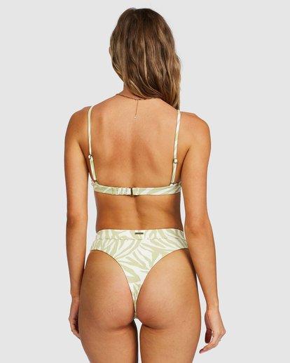 2 Jungle Town High Maya Bikini Bottoms Green 6518756 Billabong