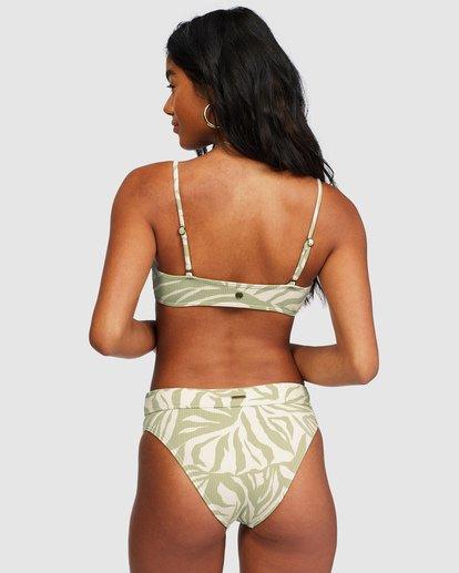 0 Jungle Town Maui Rider Bikini Bottoms Green 6518758 Billabong