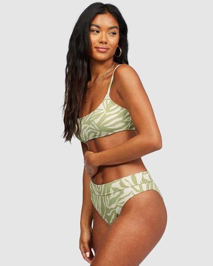 2 Jungle Town Maui Rider Bikini Bottoms Green 6518758 Billabong