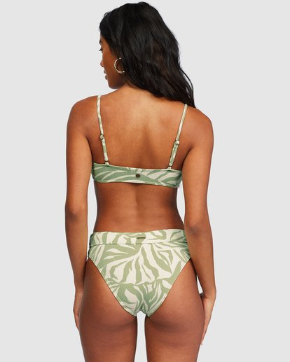 4 Jungle Town Skinny Mini Crop Bikini Top Green 6518759 Billabong
