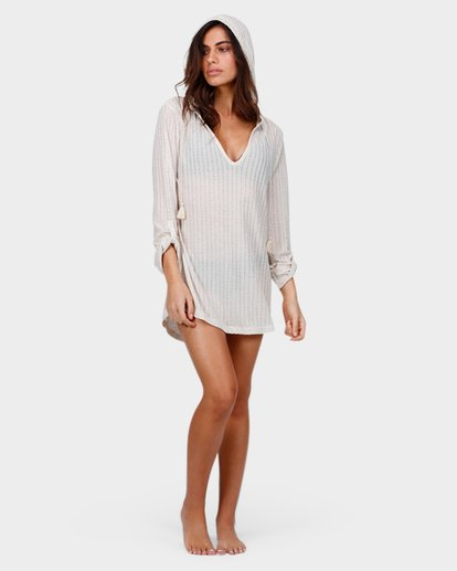 3 SANDY BEACH COVER UP Beige 6571151 Billabong