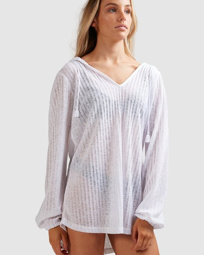 4 Sandy Beach Cover Up White 6571151 Billabong
