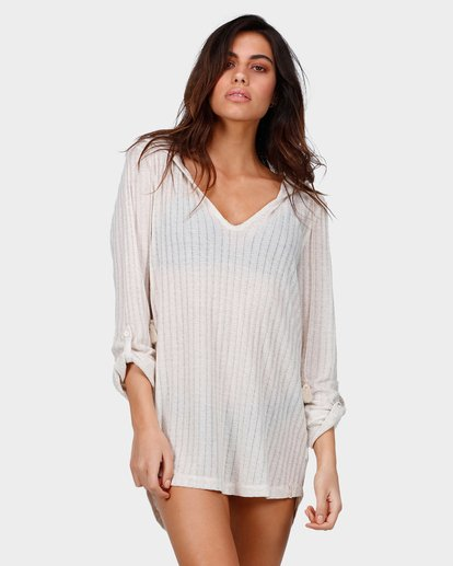 0 Sandy Beach Cover Up Beige 6571151 Billabong