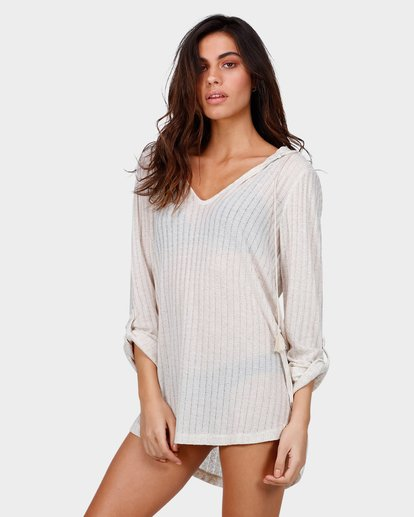 1 Sandy Beach Cover Up Beige 6571151 Billabong